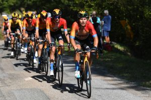 Bahrain-McLaren hand Grand Tour debuts to young Brits as Wout Poels gets team leadership at Vuelta a España