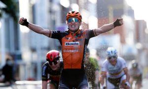 <div>Jolien D'hoore wins a thrilling edition of Ghent-Wevelgem women's race</div>