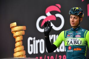 <div>Giro d'Italia rider suspended after two anti-doping violations on stages 12 and 13</div>