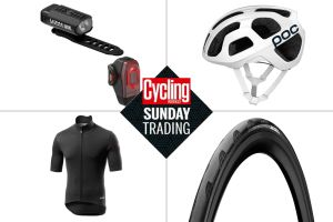 Sunday trading: Discounts on Castelli winter kit, bike lights and more