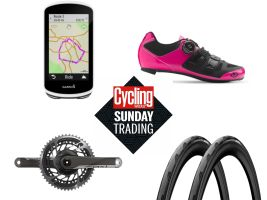 Sunday Trading: Discounts on Garmin, Castelli, SRAM and more