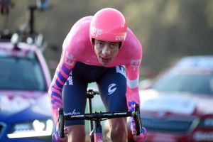 Hugh Carthy says 'he's got nothing to lose' at Vuelta a España after strong time trial performance