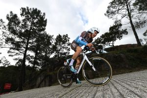 Nearly missing the start and struggling to clip in - Harry Tanfield's Strava stats show how tough Vuelta a España time trial really was