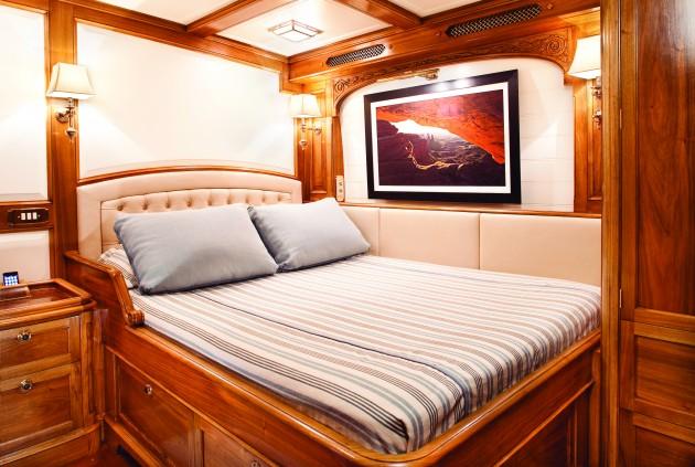 Inside J Class Yacht Hanuman Yachting World