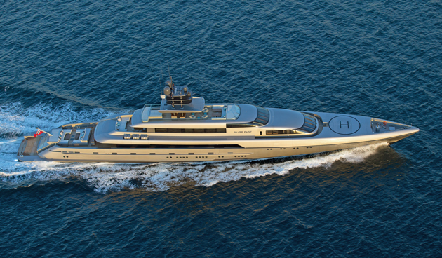 Burgess Lists Stunning 77 Metre Silver Fast For Sale