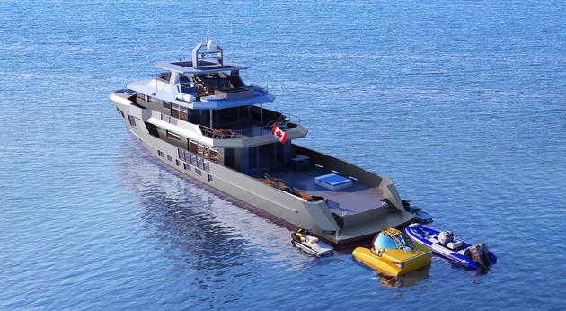 All Ocean Yachts Global Explorer SuperYacht World