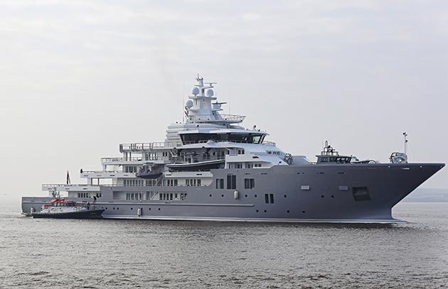 107 Metre Ulysses On Sea Trials SuperYacht World