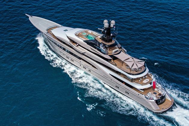 On Board The 95 Metre Lrssen Kismet SuperYacht World