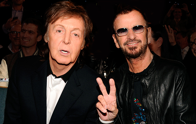 Paul McCartney To Induct Ringo Starr Into Rock And Roll