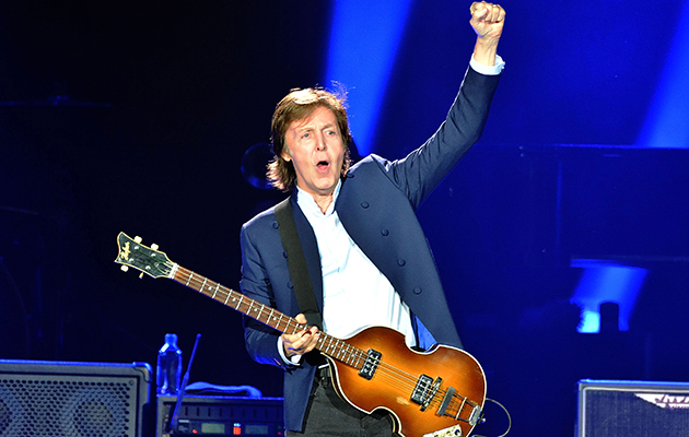 Ace Backwords Goes To The Paul McCartney Show