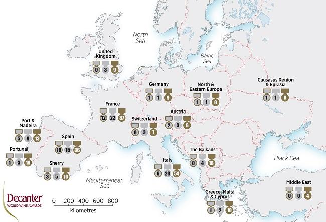 dwwa 2018 medals europe