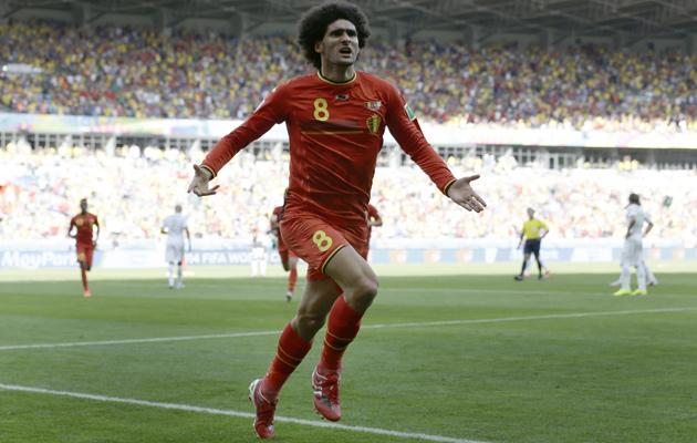 Image result for fellaini goal vs algeria