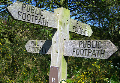 Image result for footpath sign