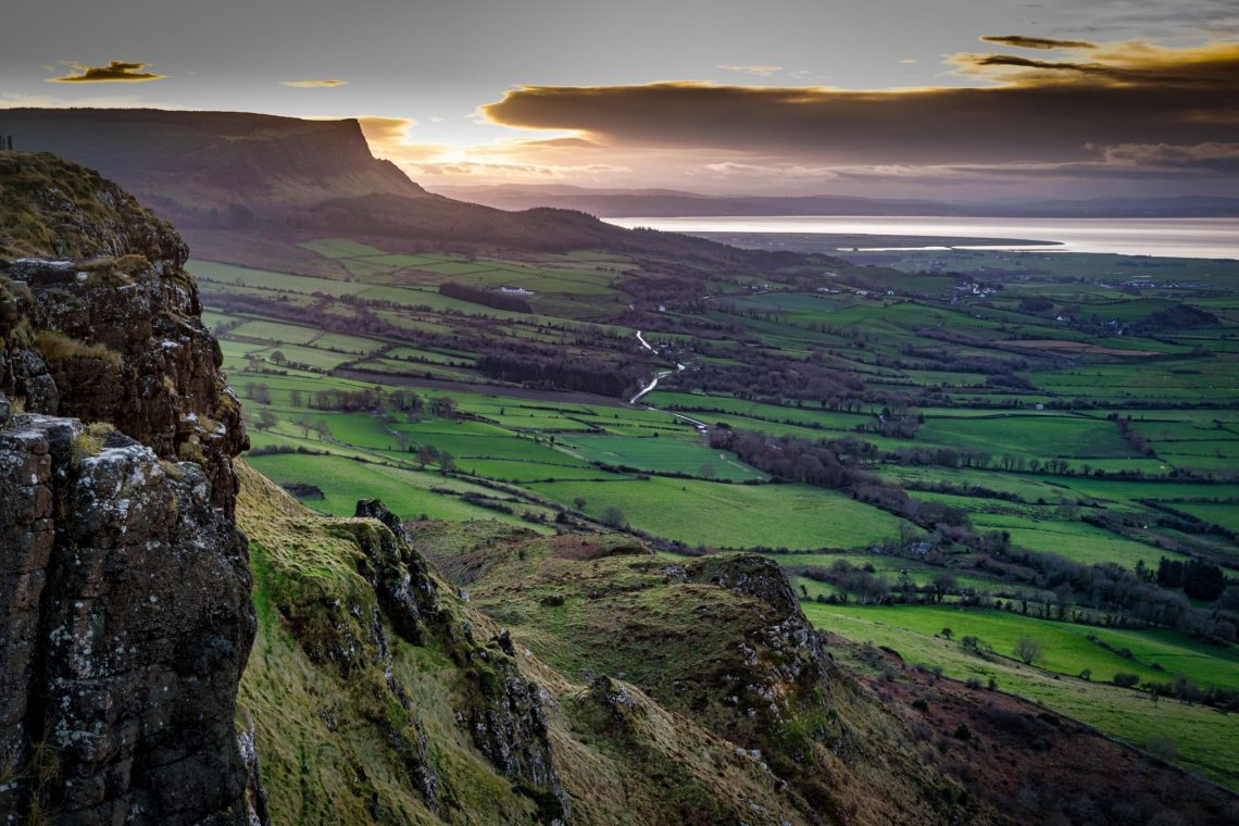 Binevenagh, Northern Ireland: Lava-hewn crags and cliffs at the end of one  of the planet's great railway journeys - Country Life