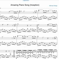 Amazing Piano Song (Inception) – Michel Ortega 1