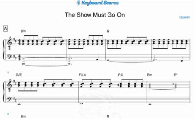 The Show Must Go On – Queen