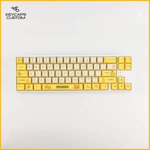 Psyduck full set on keyboard