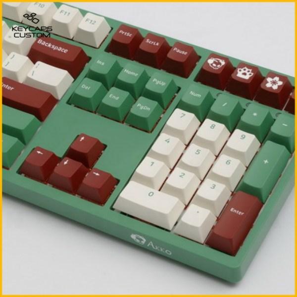 Akko-Matcha-Red-Beans-PBT-thick-OSA-Profiles-keycaps-set-04