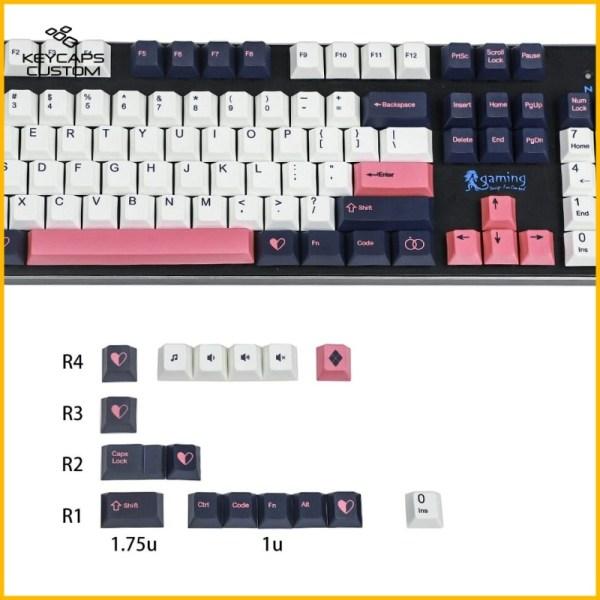 GMK-PBT-Color-Funk-Cherry-Profile-Keycaps-Set-Dark-01