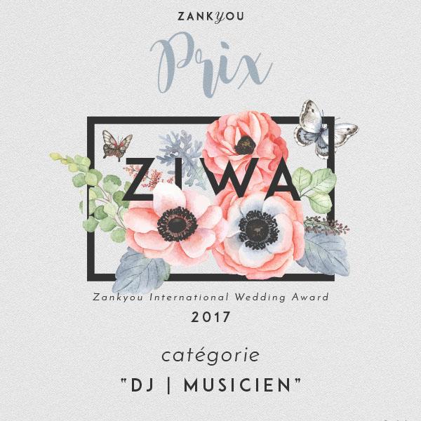 #dj #lyon #mariage #zankyou #prix #winner