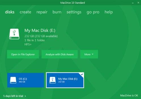 MacDrive 10 Crack