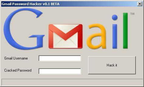 Gmail Password Hack Tool