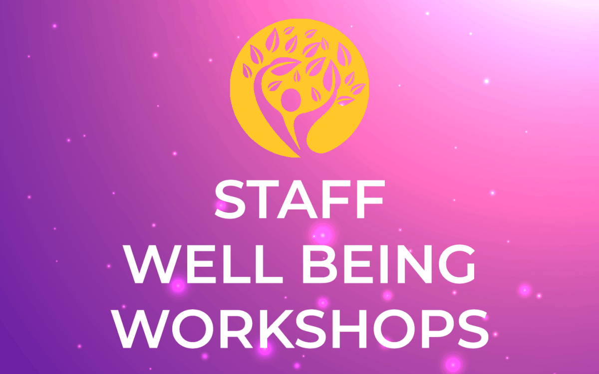 Staff wellness Key for Change services