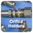 gas fittings - gas orifice holders