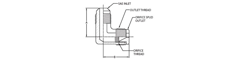 gas restrictor - SAE Inlet