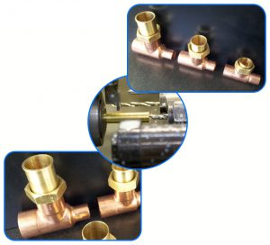gas train components - BSPP