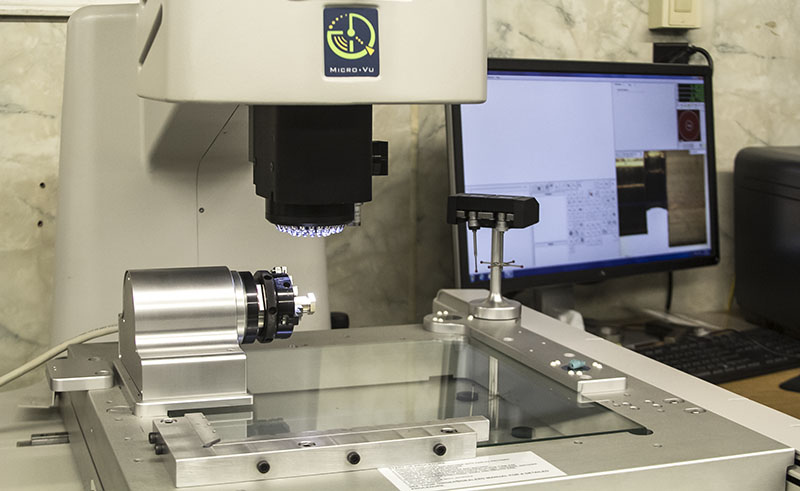 quality machining - Micro Vu – Model Vertex 311HC – Precision Visual Measuring System