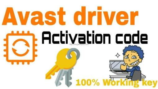 avast driver updater registration key 2.5