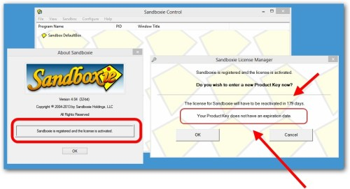 Sandboxie 5.28 Product key