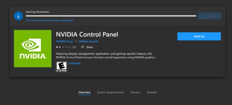 NVIDIA Control Panel [Fix]