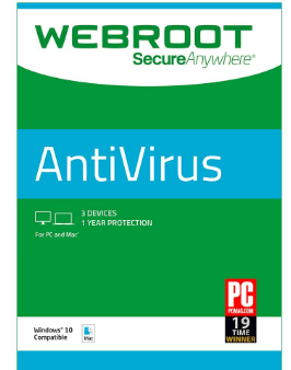 Webroot SecureAnywhere Antivirus 2019 Crack