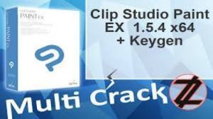 Clip Studio Paint EX 1.8.2 Crack With License Key