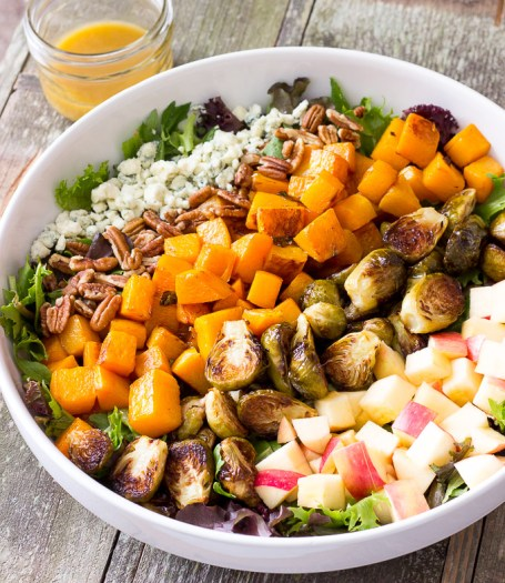 Roasted-Butternut-Squash-Brussels-Sprouts-Harvest-Salad-with-Maple-Cider-Vinaigrette-22