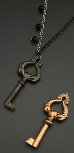 Phonograph Key with Dolphins, 1800's, Custom Orders Available - $72 (SW802)