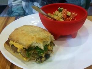 Kale Cafe Veggie Burger