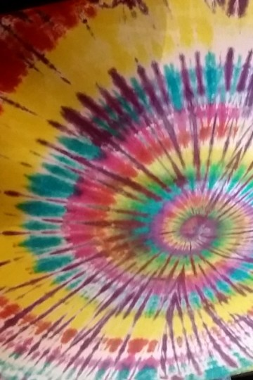 Dancing Avocado Kitchen ceiling tie-dye