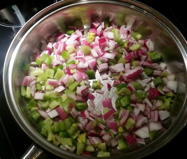 veganized classic charleston red rice