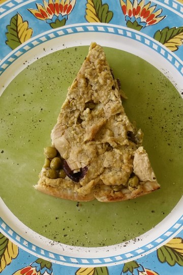artichoke olive tart