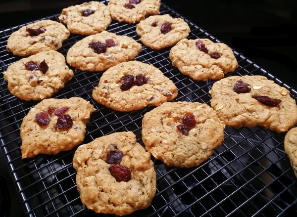 vegan-chewy-cranberry-oatmeal-cookies