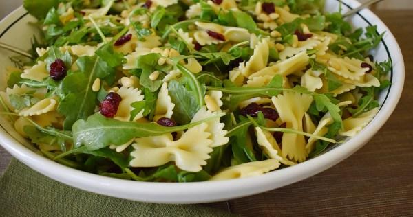 cranberry arugula pasta salad
