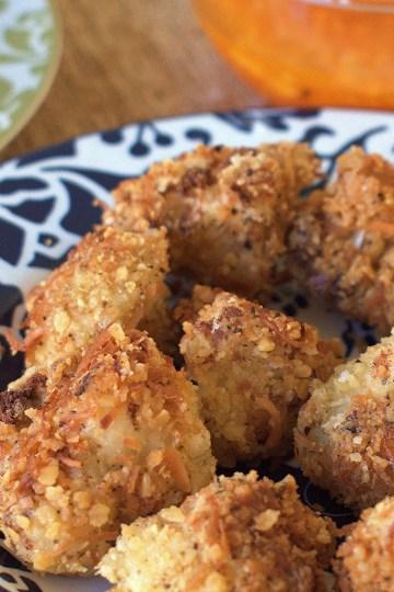 coconut cauliflower bites