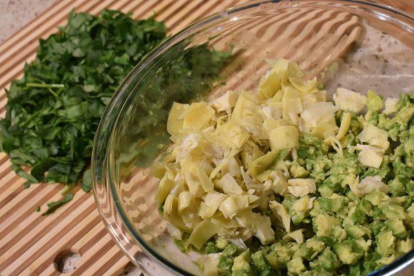 avocado spinach artichoke dip