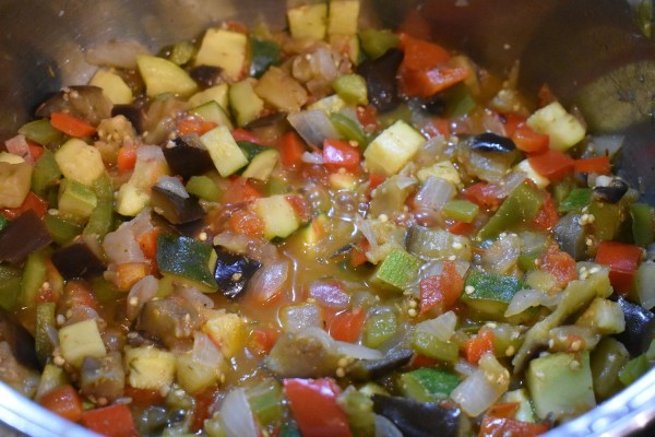 easy traditional ratatouille