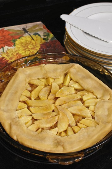 apple pie galette style