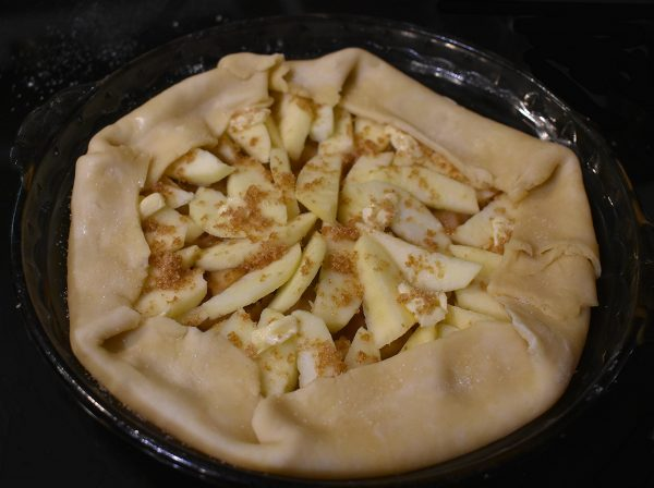 apple pie galette style