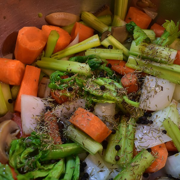 kitchen basics homemade vegetable broth